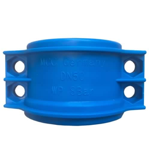 Obejma skorupowa skręcana [PP] – niebieska
